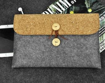 Macbook pro case, New ipad pro case, 13 inch laptop case,Macbook 12 sleeve, Macbook 12 case, macbook 12 inch, Holiday gift, felt bag, B2D97