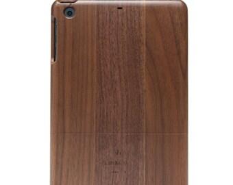 iPad Mini Cover, iPad Mini Case, Walnut Wood iPad Case.  For iPad Mini 2 & iPad Mini 3.