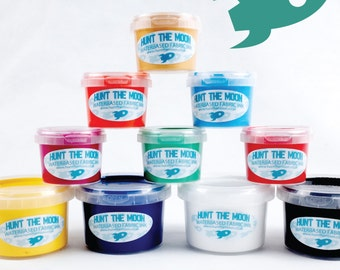 Hunt The Moon Waterbased Fabric Screen Printing Ink Choose Size & Colour