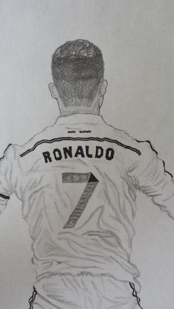 Cristiano Ronaldo Drawing Pin