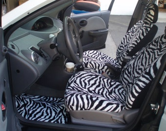 Zebra Car Seat Covers....We Make For All Cars..