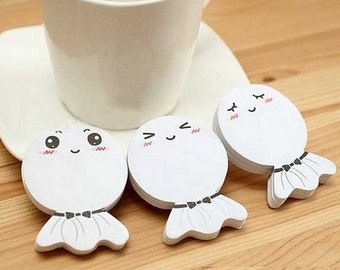 2 PCS Sticker adhesive paper face smiling Japanese