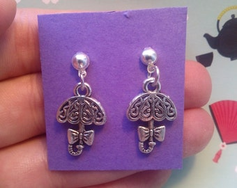 Cute patterned Umbrella earrings