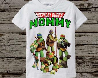 Ninja Turtles Mom Shirt - TMNT Adult Shirt