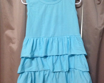 Girls Ruffle Tank Top
