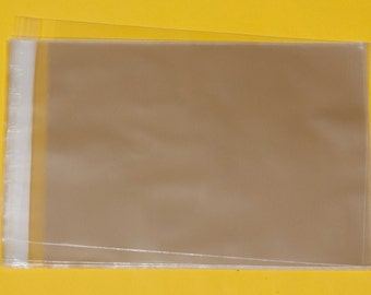 C5 Cellophane Bags for Cards 167mm x 230mm + 30mm Self Seal Lip