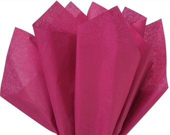 """Cranberry Tissue Paper 480 sheets 100% Recycled 20""""x30"""" Wholesale Packaging Gift Wrap Weddings"""