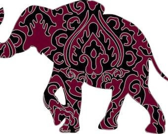 Elephant Printed Sticker