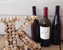 Wine Cork Letters, Handmade and Customized Letter, Wine Cork Crafts, Wine Cork Decor