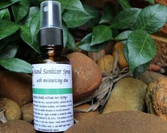 Essential Oil Hand Sanitizer Spray