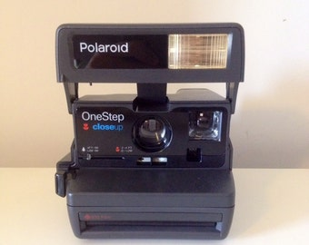 Polaroid ONE STEP Close Up with FLASH-with original box and instructions