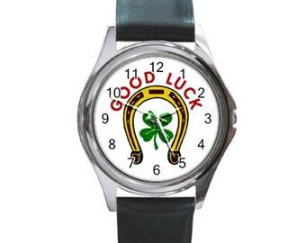 Goodluck  Round Metal Watch