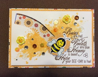 Birthday Spinning Bee Card(s)