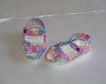 Crochet Girls Sandals
