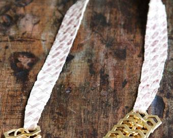 Snakeskin Necklace