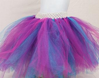Sparkle Blue and pink tutu