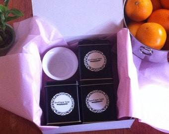 Organic White Tea Gift Set