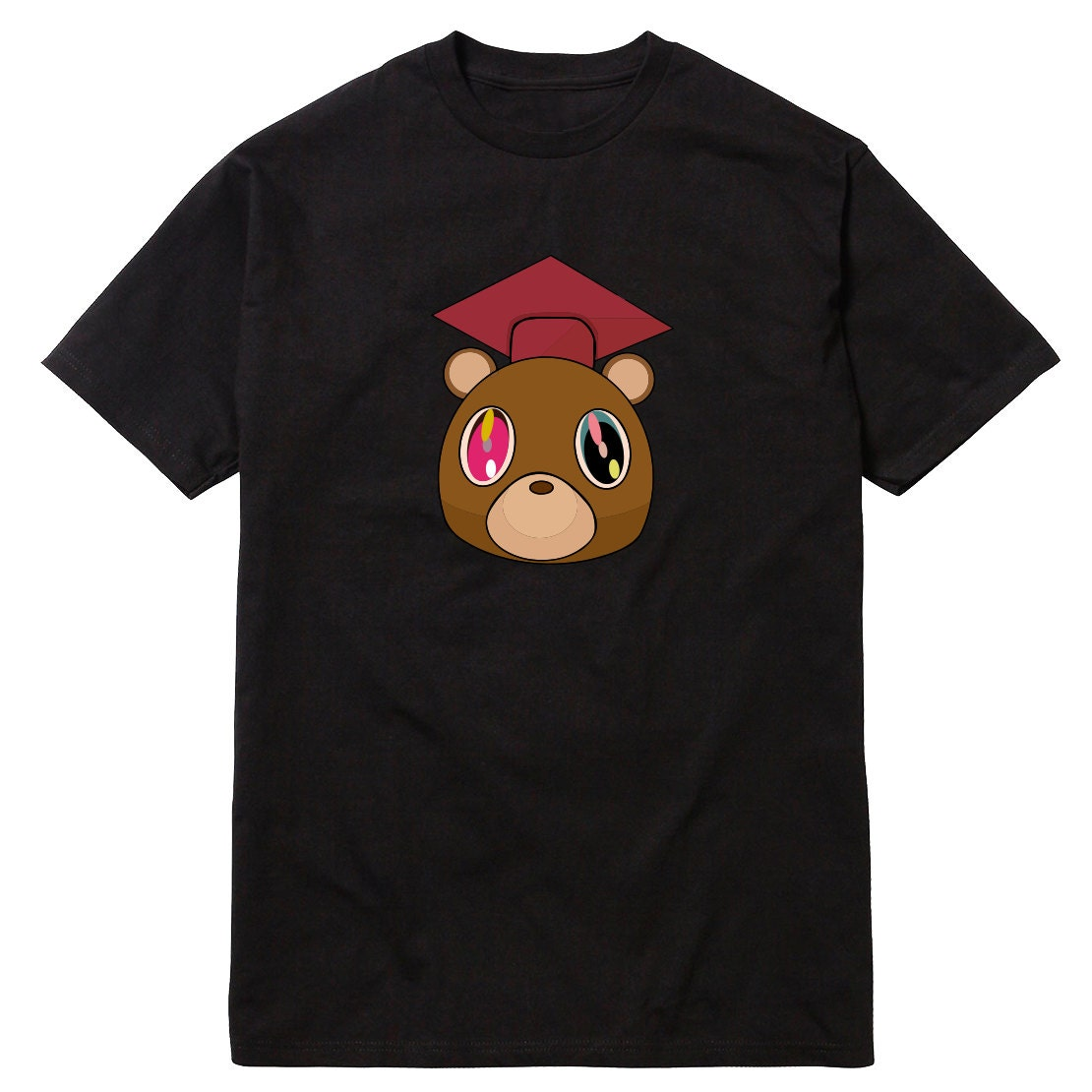 Graduation Bear T Shirt College Dropout Yeezus Good Music