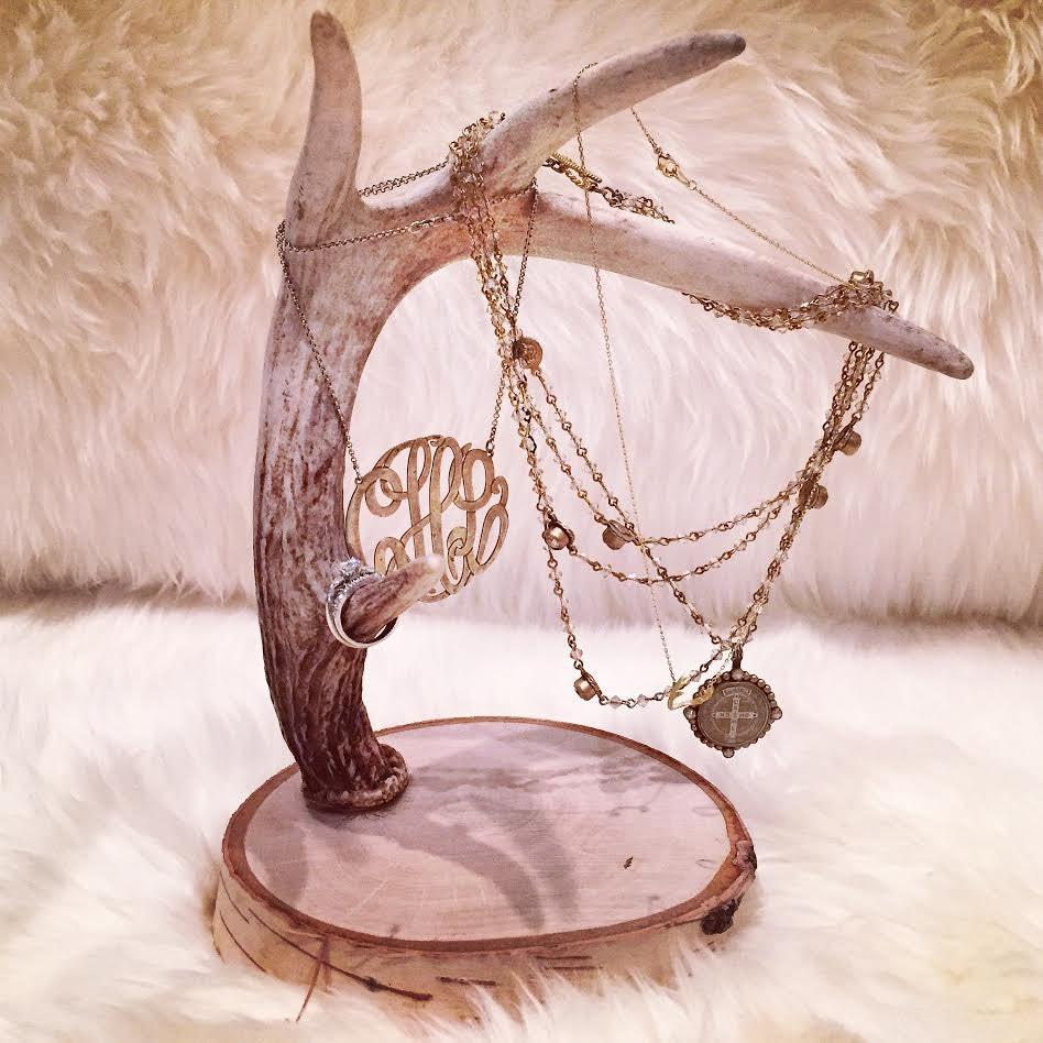 deer antler jewelry holder deer antler jewelry by