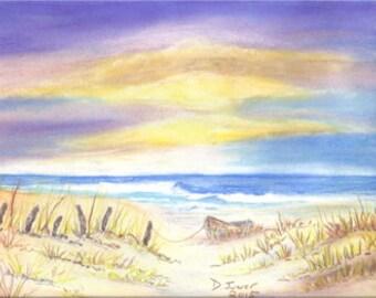 Wall Art, Ocean Art, Sand dune Beach Art, Art & Collectibles,Fine Art Print,  Giclee Print , Home Decor, Wall Decor, Nautical Print