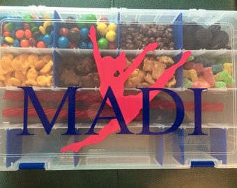 Personalized Large Snack Box