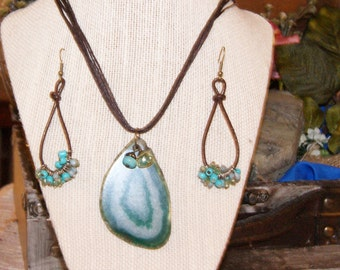 Boho/Hippy/Surfer - THREE PIECE Jewelry Set