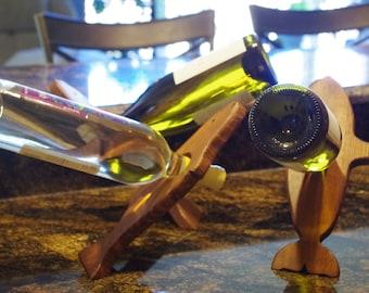 Whale Wine Bottle Holder