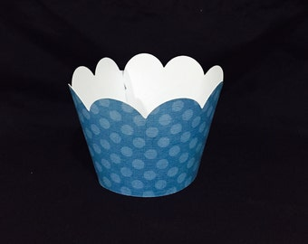 Baby Blue Cupcake Wrapper