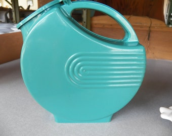 Vintage Burrite Plastic Pitcher, Model 123 Art Deco, Retro Mid-Century