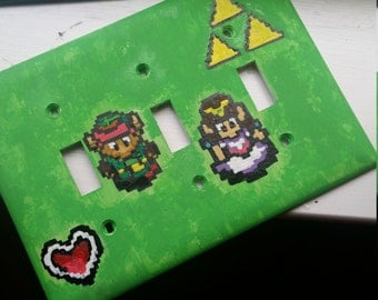 Legend of Zelda Link to the Past Handmade Light Switch Cover