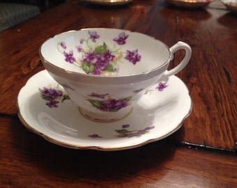 Stanley Bone China Tea Cup and Saucer