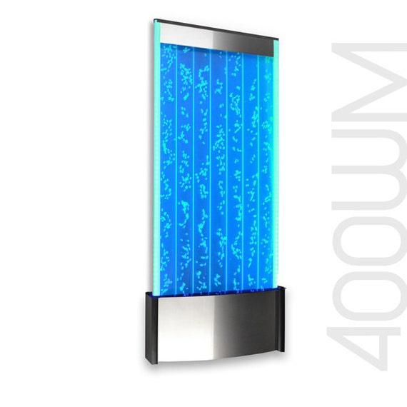 wall mount led bubble wall panel indoor fountain by bubblewall