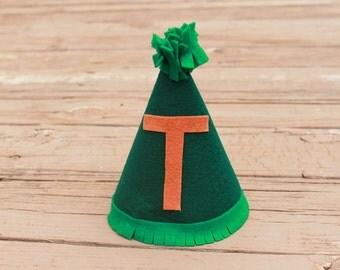 Monogram Birthday Hat - Felt Birthday Hat