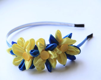 Floral headband. Ukrainian traditional headband. Headband
