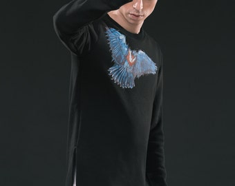 BIRD LONG SWEATSHIRT