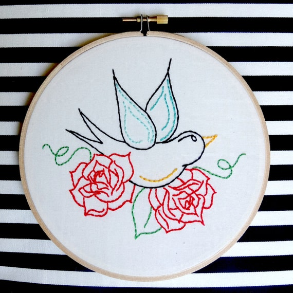 "Hoop-a-loop Starter Kit with ""Flight"" FULL STITCH"