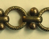 One Yard and Eight Inches of Unusual Brass Chain