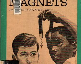 Let's Find Out About Magnets - David C. Knight - Don Miller - 1967 - Vintage Kids Book