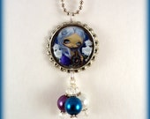 """Jasmine Becket Griffith  """" Moon Child """"  necklace"""