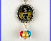 "Jasmine Becket Griffith  "" Bosch Circus ""  necklace"