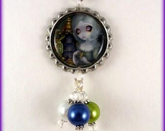 """Jasmine Becket Grifffith  """" Miss Havisham """"  necklace"""