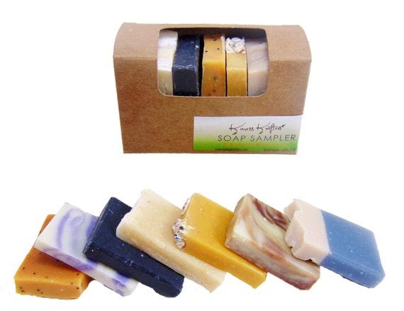 Soap Sample - Handmade Soap - Sampler Gift Set - Natural - Moisturizing - Soothing - Healing