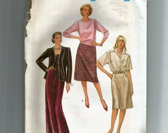 Simplicity Misses' Skirt in Three Lengths Pattern 6622
