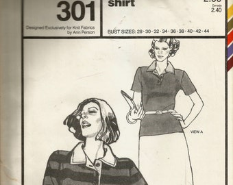 Stretch & Sew Rugby Shirt Pattern 301