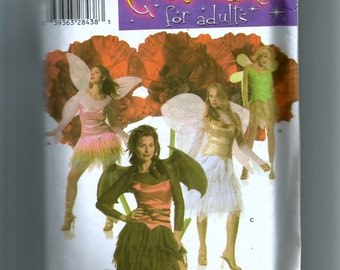 Simplicity Misses' Fairy Costumes Pattern 4902