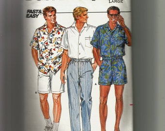 Butterick  Men's Shirt , Pants, and Shorts Pattern 3777