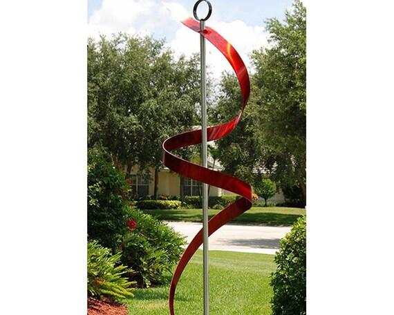 Vente norme grand rouge autonome moderne sculpture en - Sculptuur jardin contemporain ...