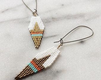 Painted Arrow Earrings