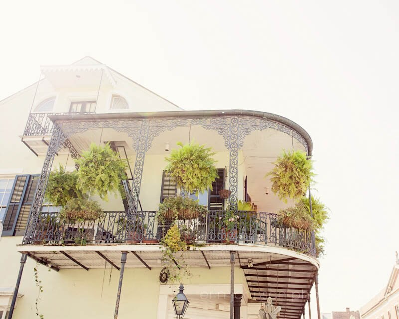 Home Decor New Orleans: New Orleans Art French Quarter Balcony Yellow Home Decor