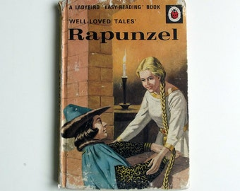 Vintage Ladybird Book - Rapunzel - good vintage condition- Children's Fairytale Story Book